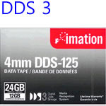 백업테이프 imation DDS3 4mm125M DDS125 12/24GB