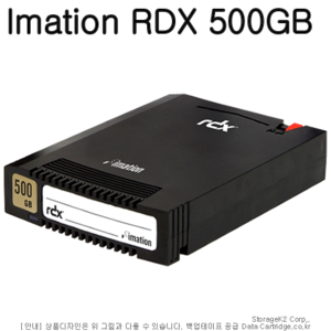 RDX MEDIA 500GB IMATION