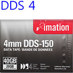 백업테이프 imation DDS4 DDS150 4mm 150M 20/40GB